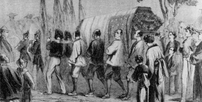 ヘンリー・ヒュースケン 薩摩藩士の襲撃を受け殺害されたアメリカの通訳