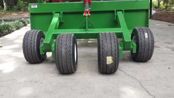 Tandem Axle Hydraulic Box Blade by JPS Fabrications LLC