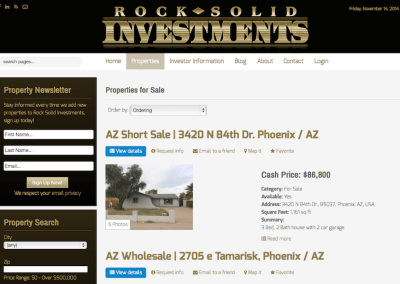 Rock Solid Investments
