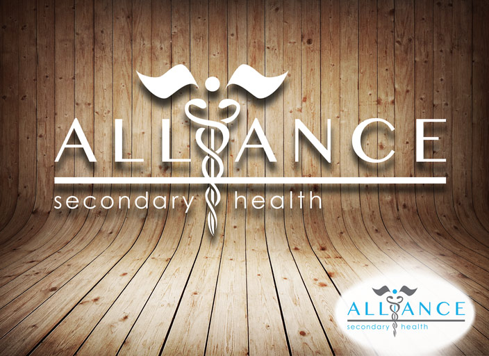 Alliance Secondary Insurance Logo Design