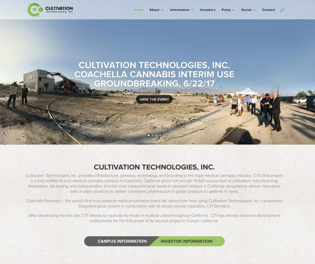 CTI Website Design/Build
