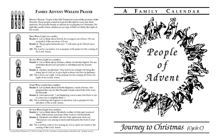 People of Advent Cycle C