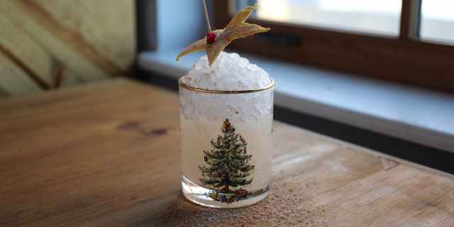 Christmas Brooklyn Cocktail
