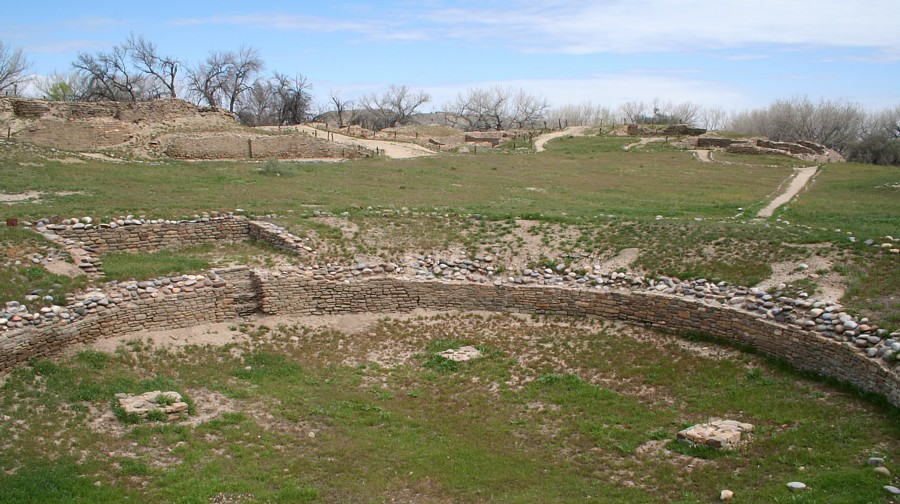 Salmon Ruins Bloomington New Mexico  a Photo Gallery