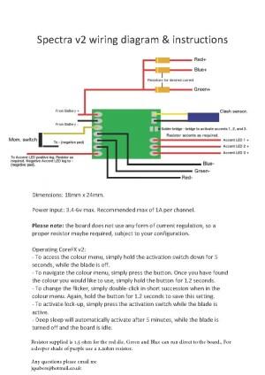 JQ Sabers | Jedi Quartermaster » Spectra V2 Blade Controller
