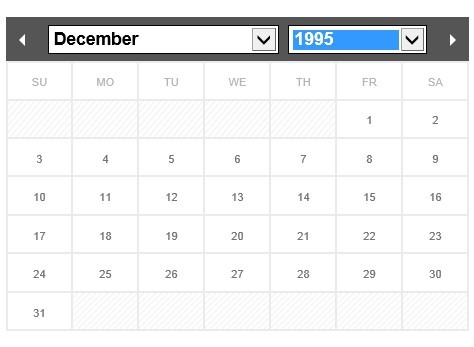 Calendar Date Picker Using Php | Free Printable Calendar With Holidays