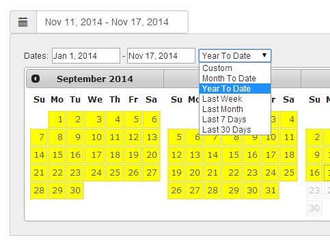 Calendar Date Picker For Html Form | Jastek Calendar Clock