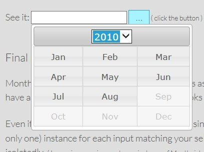 Month Year Calendar Jquery | Online Printable Calendar Word
