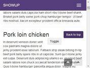 jQuery Plugin For Auto Hiding Navigation Menu - showup