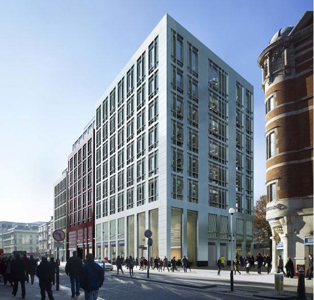 101 Moorgate Crossrail Oversite Development London Ec2