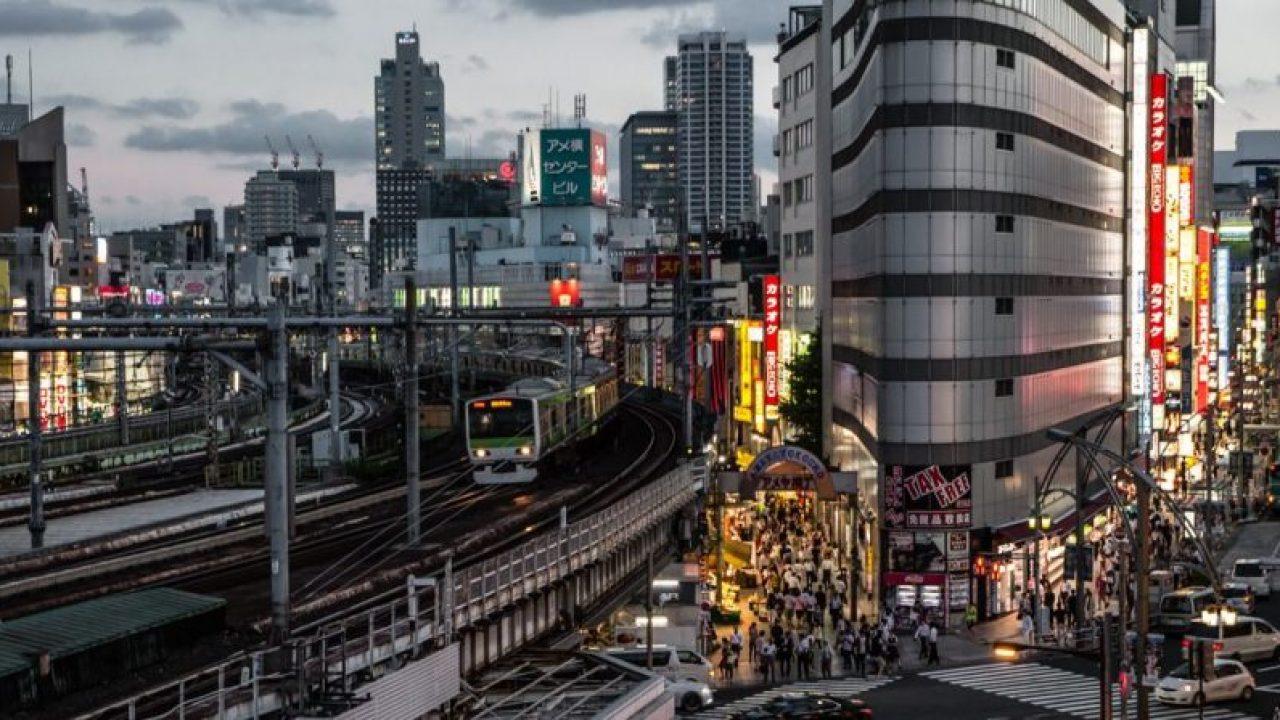 The Jr Yamanote Line Getting Around Tokyo Japan Rail Pass