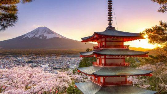Resultado de imagem para chureito pagoda at mount fuji