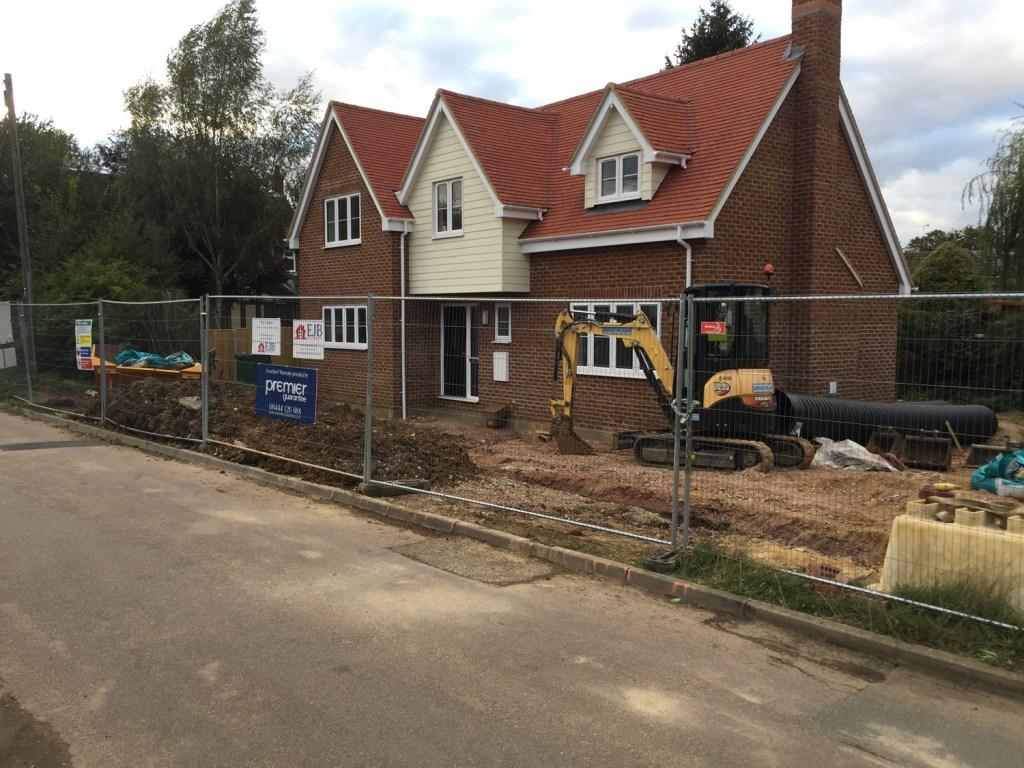JRB Builds new house job