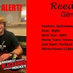 Signing Alert: Reed Gilmore Becomes a Blackbird!