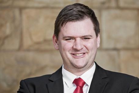 corporate headshot at vermeulen law of merwyn