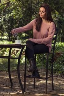 Candice model portfolio photo shoot taken at Walter Sisulu Botanical Gardens