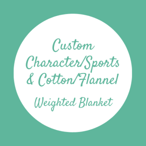 Custom Character or Sports Team Weighted Blanket