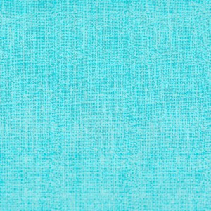 Personalized Cotton Textured Aqua Weighted Blanket