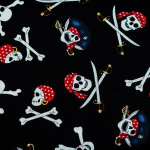 Personalized Jolly Roger Weighted Blanket