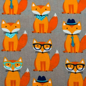 Personalized Smart Fox Weighted Blanket
