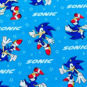 Personalized Sonic the Hedgehog Weighted Blanket