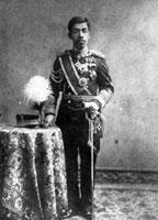 Taisho Emperor (Yoshihito), in military uniform