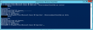Azure AD Connect Command Line