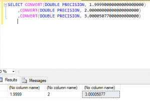 SQL Reduce Number of Decimal Places