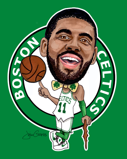 Kyrie Irving Wallpaper Hd Jrgart Caricatures Famous Faces