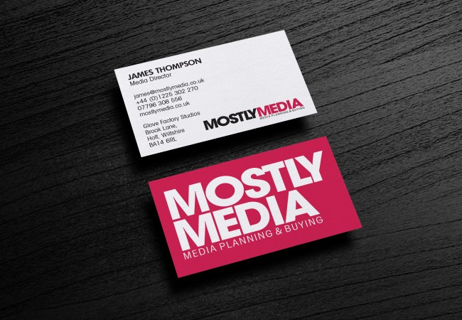Mostly Media Business Card