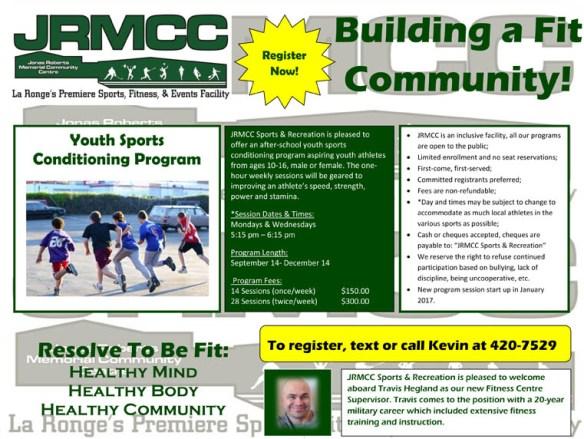 Sports Conditioning Program Promo