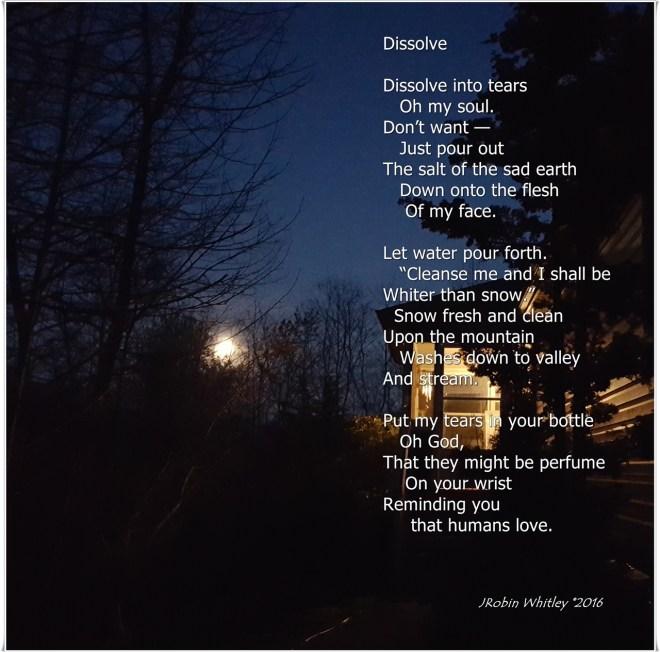 Dissolve by JRobin Whitley