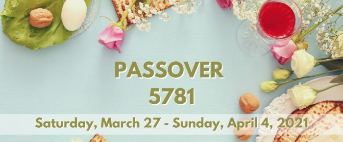 Passover or Holy Week