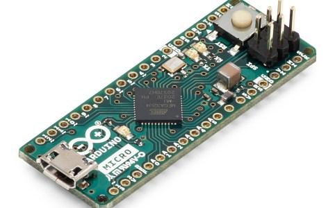 Arduino Micro Isometric View