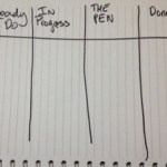 Personal Kanban in a Notebook