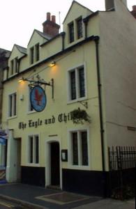 Pub Eagle and Child a Oxford