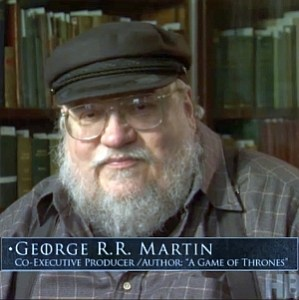 "George Martin parla della serie tv ""Game of Thrones"""