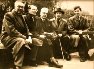 Alcuni membri del gruppo degli Inklings