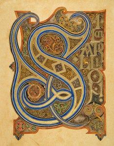 Pagina iniziale del Edel Silmarillion di Benjamin Harff