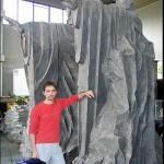 Ivan Cavini e gli Argonath