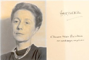 Elaine Griffiths e la dedica di J.R.R. Tolkien
