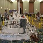 Minas Tirith fatta con i Lego