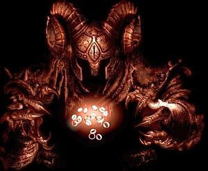 """Disegno: """"Sauron"""" di Ivan Cavini - http://www.ivancavini.com"""