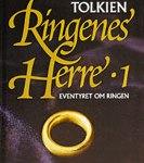 """Libro: """"Ringenes herre"""", traduzione danese del Signore degli Anelli"""