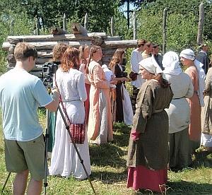 """Riprese dal trailer di """"Nienor Níniel"""": il villaggio"""
