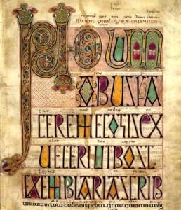 Particolare dal Libro di Kells
