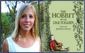 Jamime Catlin e Libro Lo Hobbit