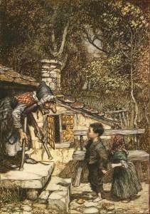 Arthur Rackham: Hansel e Gretel