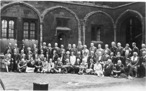 Congresso internazionale sull'Esperanto a Oxford nel 1930