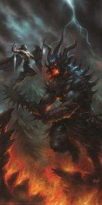 Fingolfin e Morgoth - Lucio Parrillo